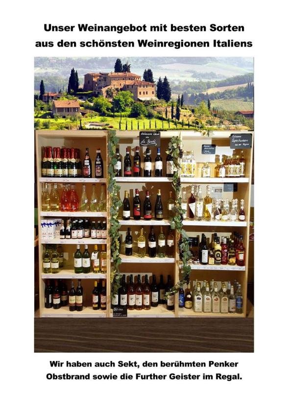 Unser Wein kommt aus Italien von La Bonta´